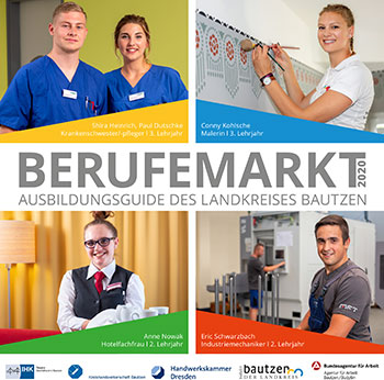Berufemarkt 2020 - Ausbildungsguide des Landkreises Bautzen